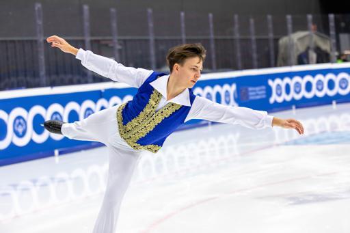 Aleksandr Ivanov (RUS) compete in Figure Skating ©Special Olympics