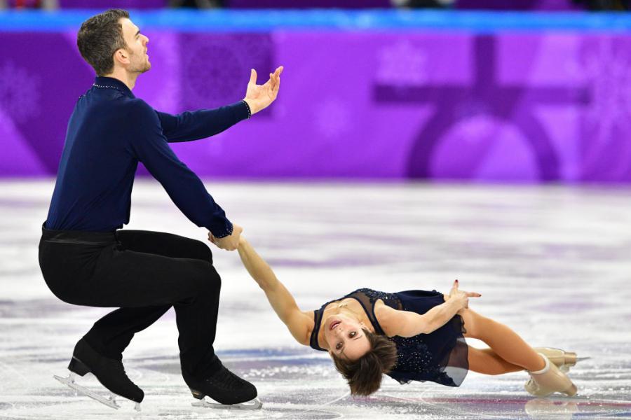 Meagan Duhamel & Eric Radford /CAN ©AFP